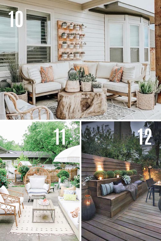 Best Deck Seating Furniture Ideas