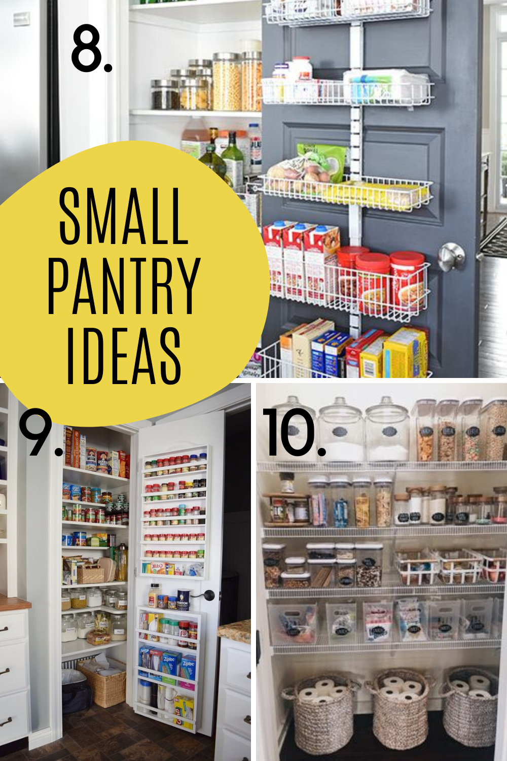 Small Pantry closet design finds