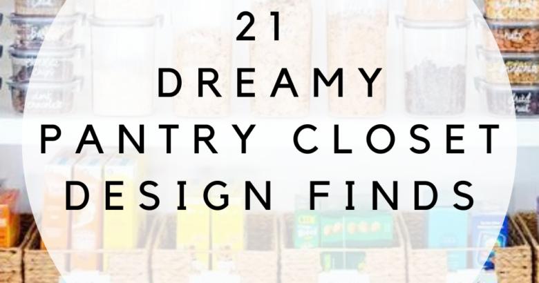 pantry closet design finds