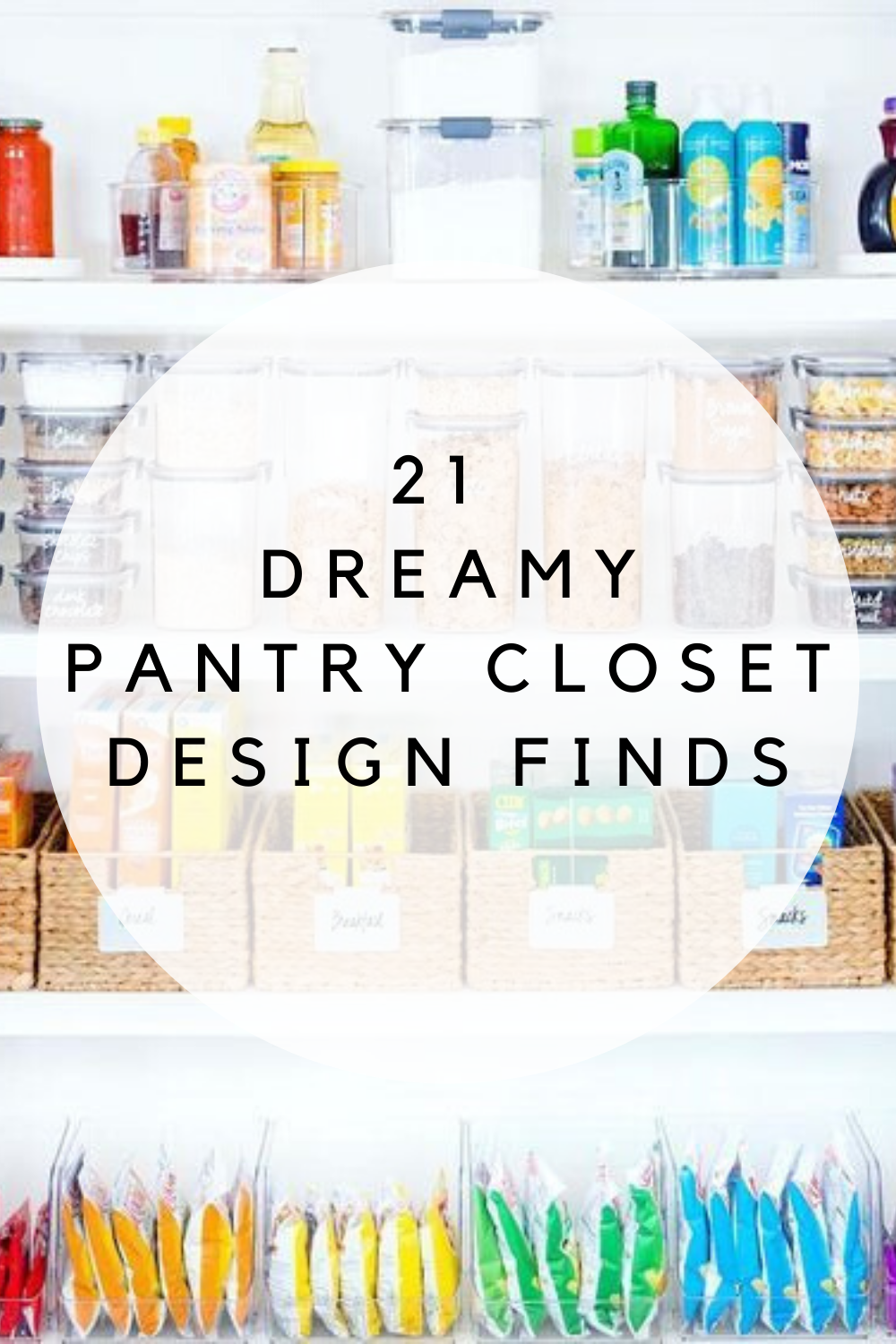 pantry closet design finds