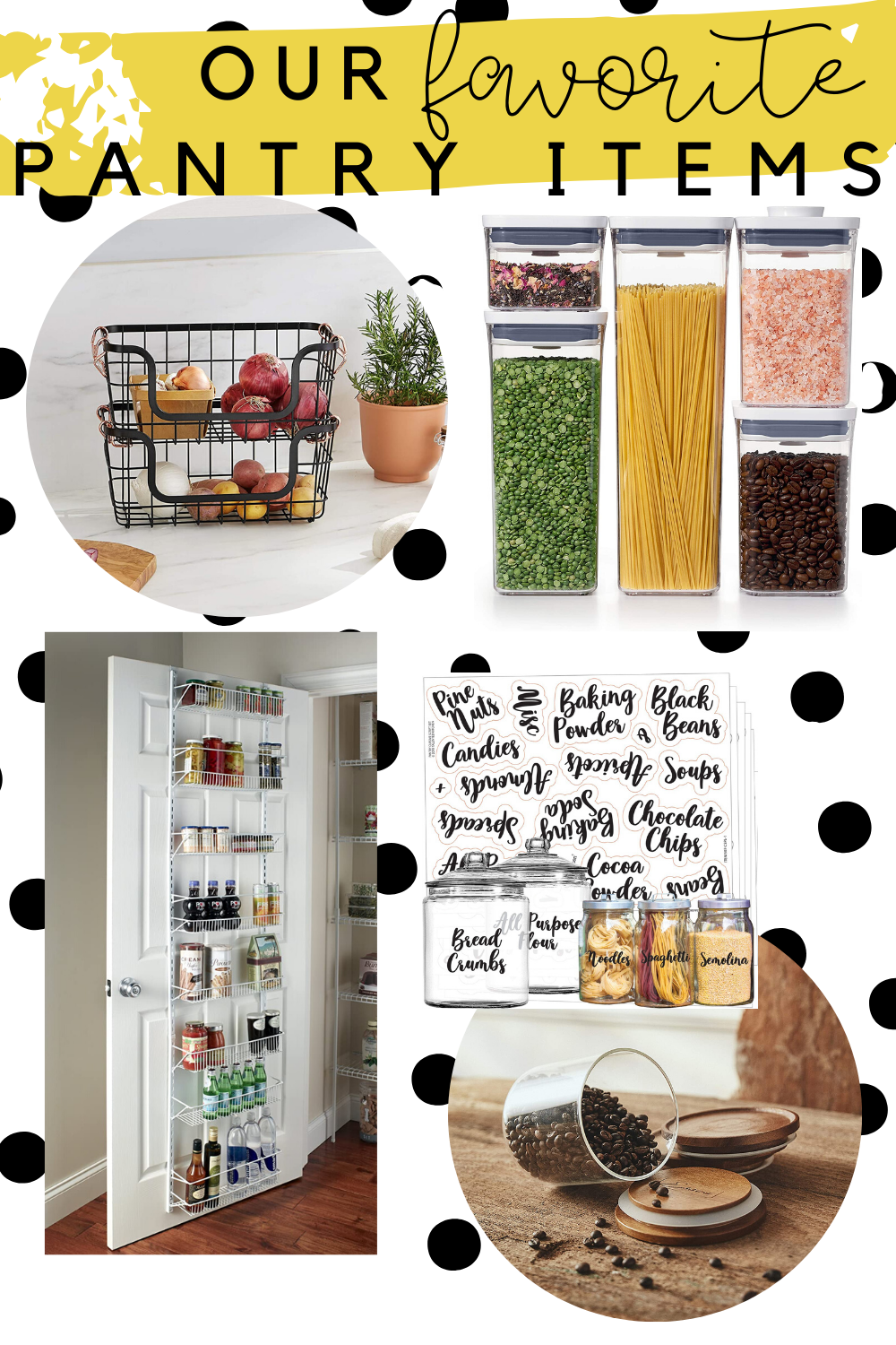 best pantry items