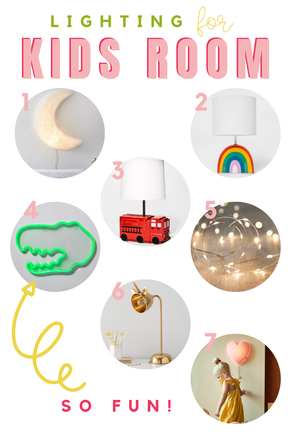Great Finds for Kids Rooms