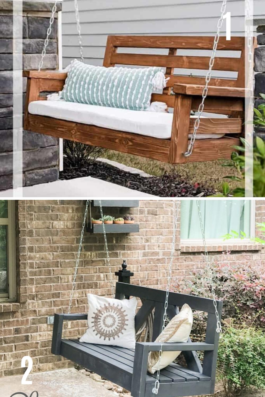 DIY Porch Swings