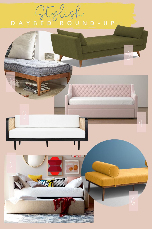 stylish daybed round up