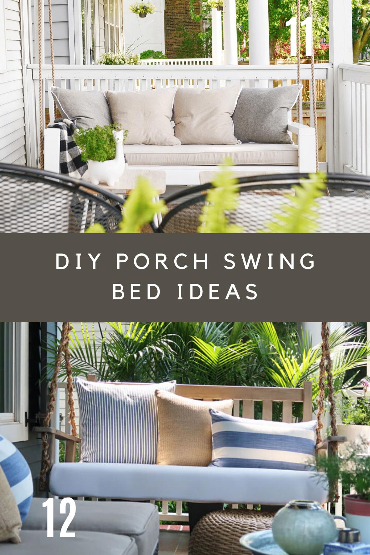 DIY Porch Swing Frame Plans