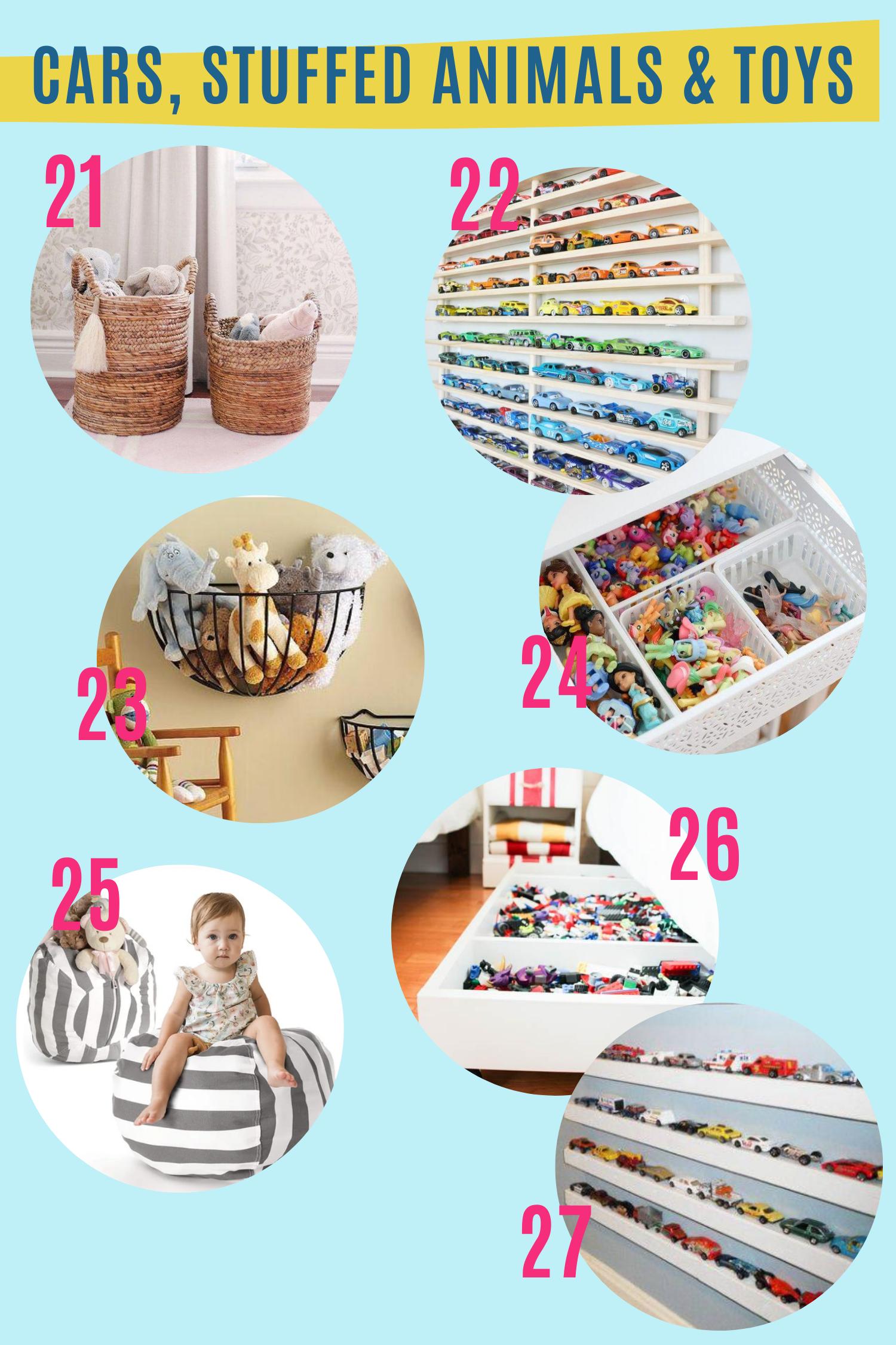 Kids Playroom Storage Ideas