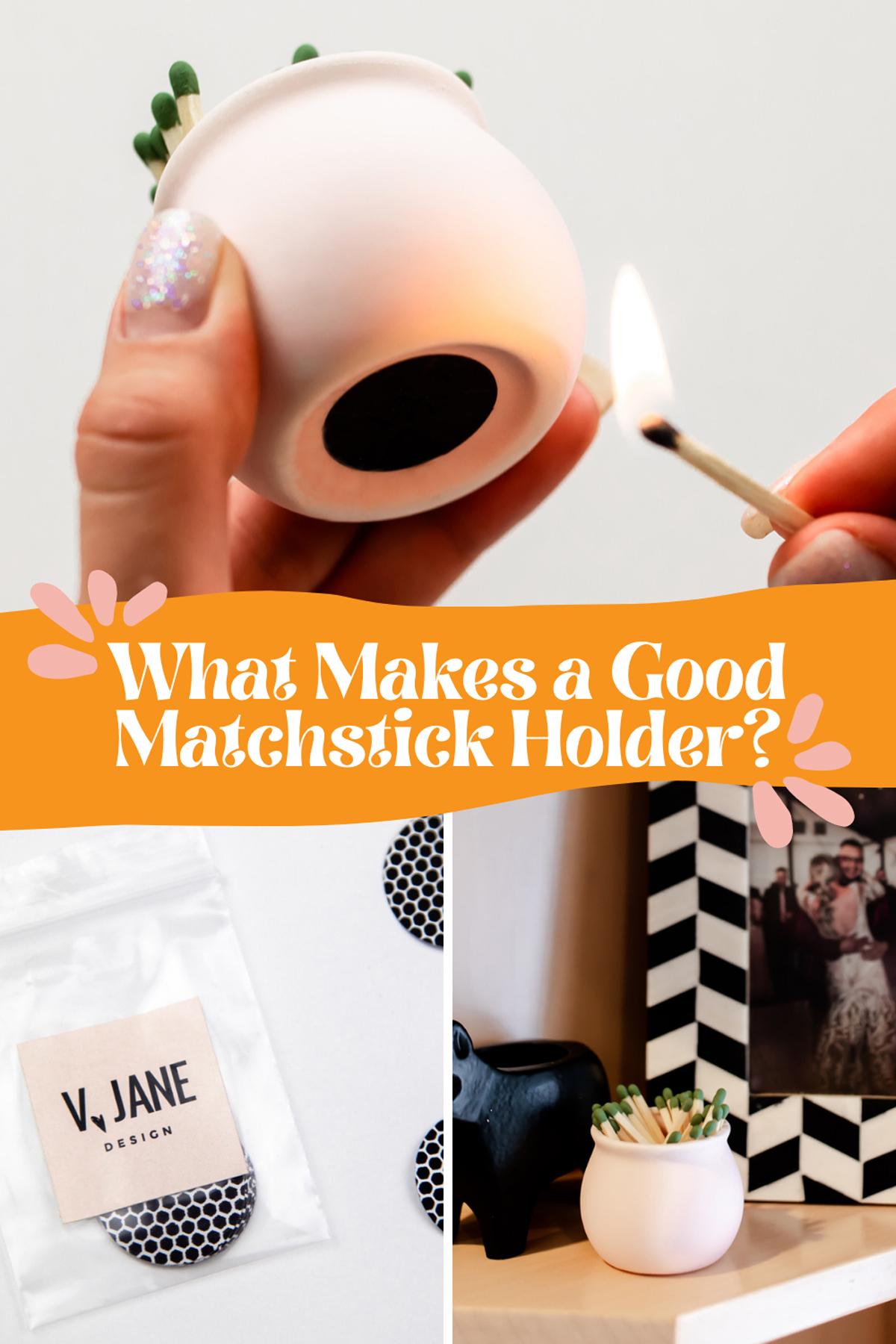 Ceramic Matchstick Holder Review